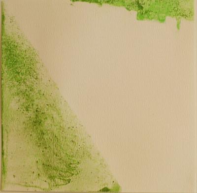 Foi necessário 2009,  230 €(es war notwendig)Wasserfarbe auf Papier,15 x 21,5 cm
