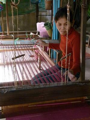 Kette aufbringen (Kambodscha)