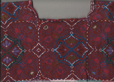 Detail Bluse Mexiko Kreuzstich