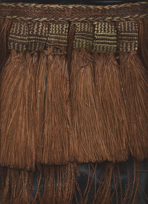 Detail Frauenbastrock Papua Neuguinea