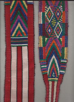 Detail Frauengürtel Guatemala